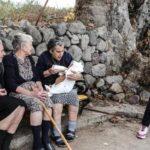 «Έφυγε» η Μαρίτσα, μια από τις γιαγιάδες της Σκάλας Σκαμιάς