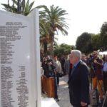 Ο Φ. Κουβέλης αποκάλυψε το μνημείο της «Λεσβιακής Φάλαγγας» στο Πλωμάρι