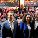 Ρεπορτάζ στην DW: «Η πρόσκληση του Αλ. Τσίπρα στο συνέδριο του SPD έστειλε ένα σοβαρό μήνυμα στην Ευρώπη»